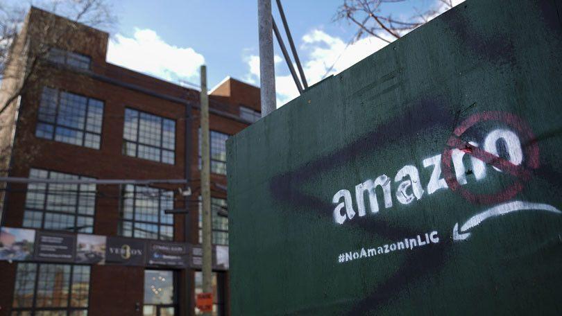 Amazon Long Island Backlash