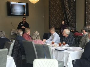 Manufacturer roundtable luncheon
