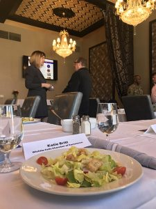 Military roundtable luncheon