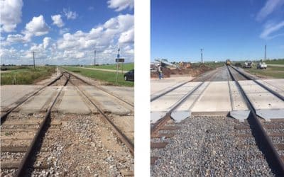 Chamber Facilitated Improvements on Rail Crossing