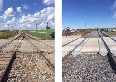 Rail crossing improvement Vitro