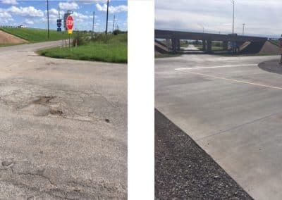 Rail crossing improvement Arconic