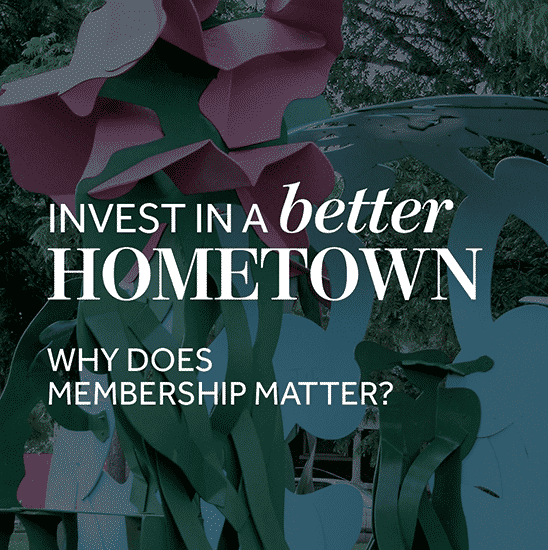Invest in a better hometown