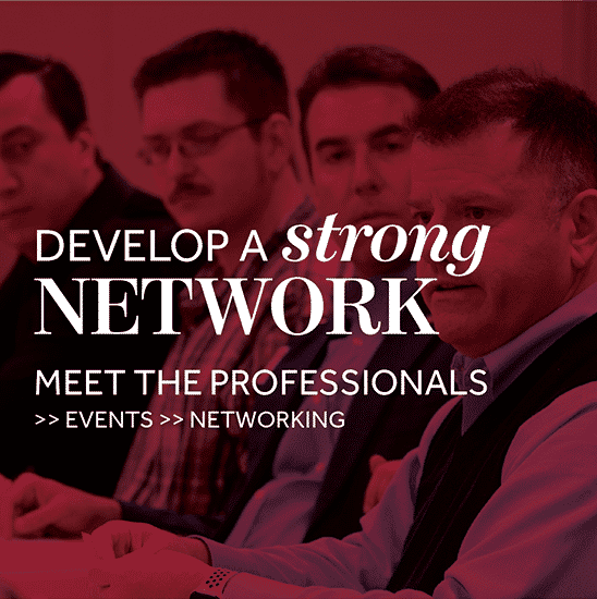 Develop a strong network
