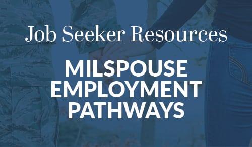 Milspouse Employment Pathways